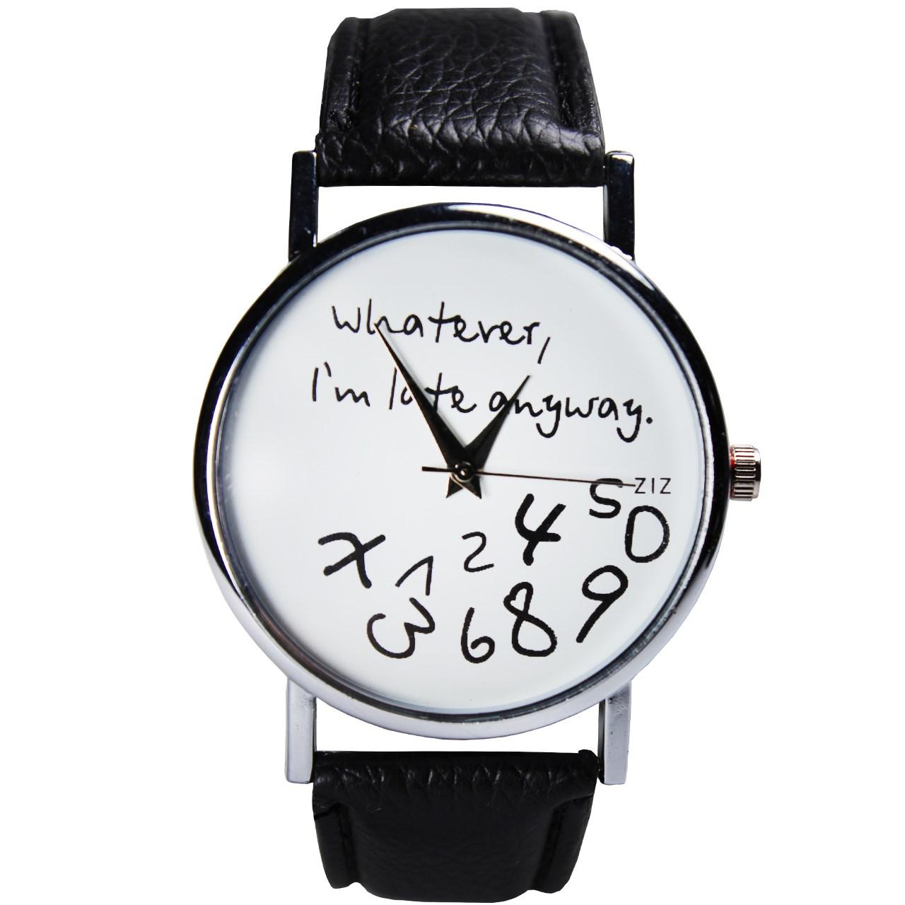 خرید ساعت مچی عقربه ای مردانه و زنانه مدل w-07 | ساعت مچی