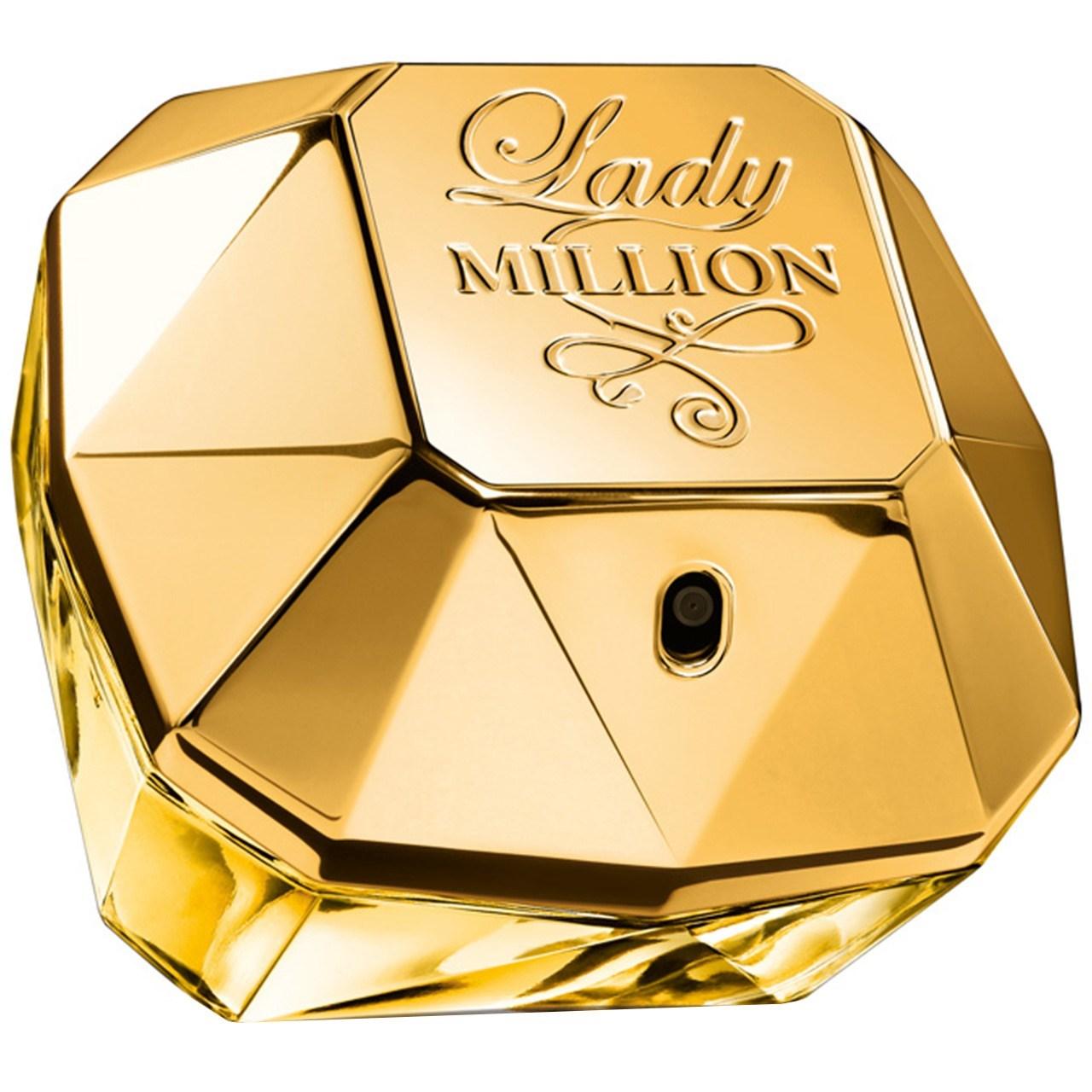 تستر ادو پرفیوم زنانه پاکو رابان مدل Lady Million حجم 80 میلی لیتر