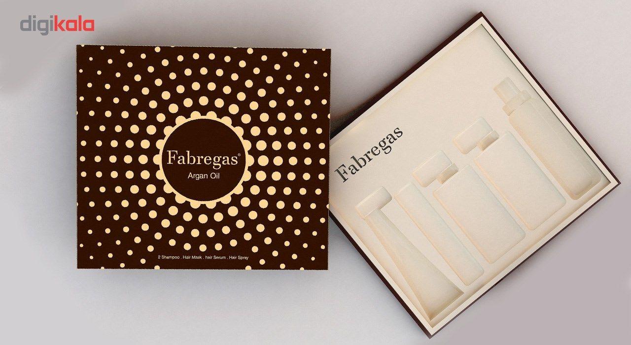 مجموعه ترمیم کننده موی فابریگاس مدل Argan مجموعه 5 عددی main 1 2