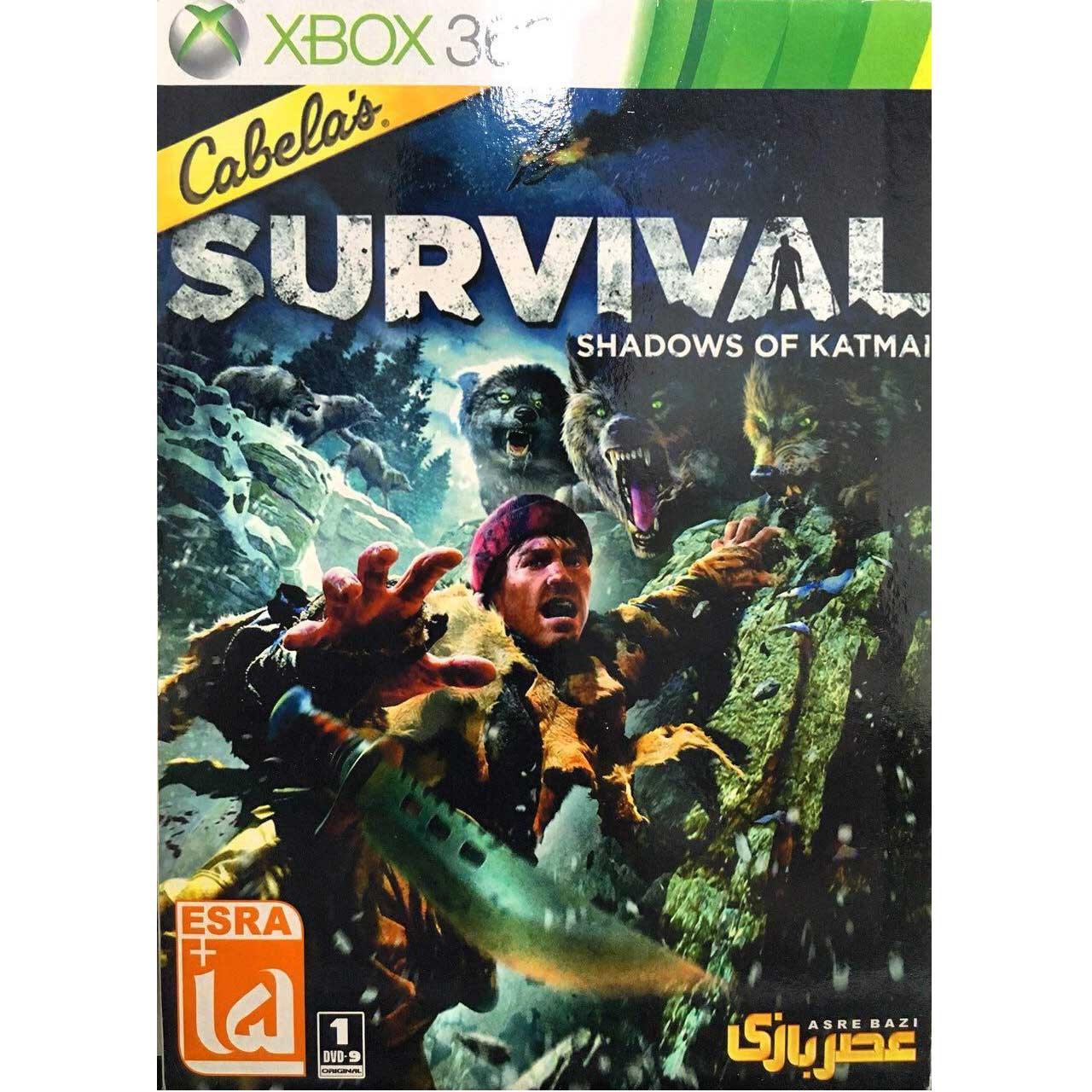 خرید اینترنتی بازی Cabela s Survival Shadows of Katmai مخصوص Xbox 360 اورجینال
