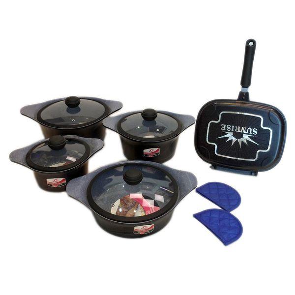 سرویس پخت و پز 12 پارچه سان رایز مدل 12P