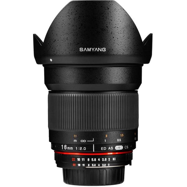 لنز سامیانگ 16mm f/2.0 ED AS UMC CS For Canon