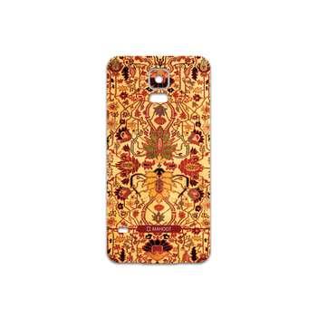 برچسب پوششی ماهوت مدل Persian-Carpet-Yellow مناسب برای گوشی موبایل سامسونگ Galaxy S5