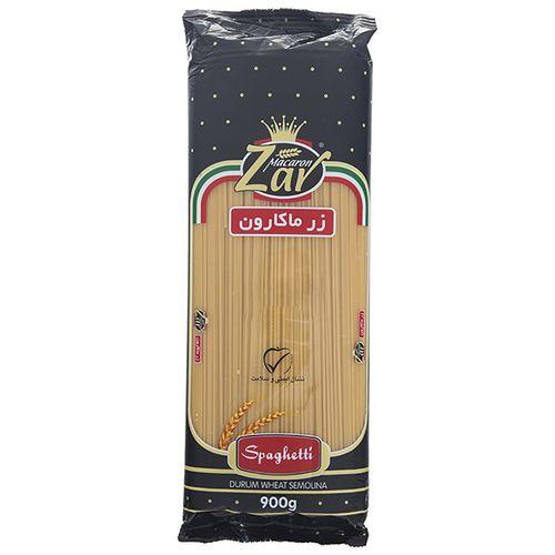 اسپاگتی قطر 1.5 زر ماکارون مقدار 900 گرم