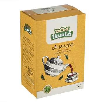چای سیاه سیلان فامیلا مقدار 450 گرم