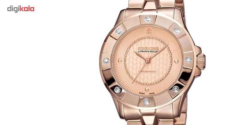 ساعت مچی عقربه ای زنانه روبرتو کاوالی مدل RV2L008M0111