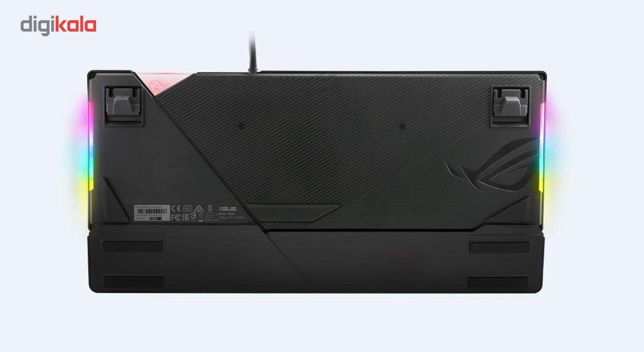 کیبورد مکانیکی مخصوص بازی ایسوس مدل ROG Strix Flare main 1 3