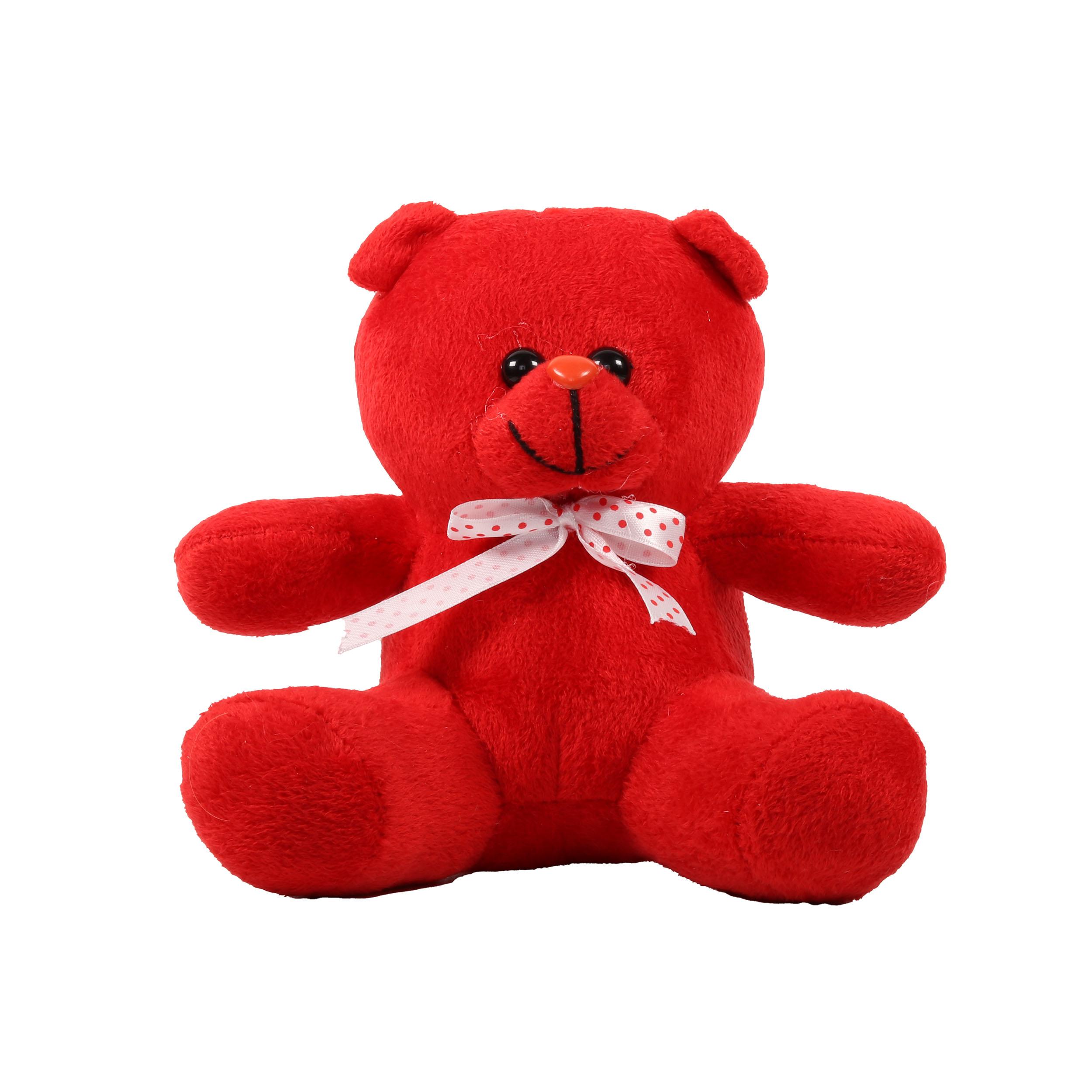 عروسک طرح خرس کد 4433 ارتفاع 20 سانتی متر