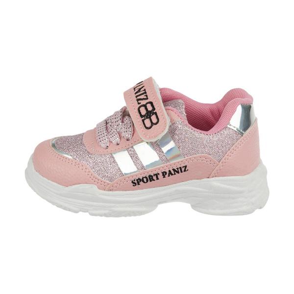 کفش مخصوص پیاده روی دخترانه ملی مدل بلفی  کد 84497212 رنگ صورتی
