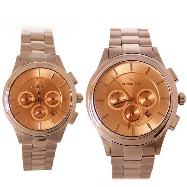 ساعت ست مردانه و زنانه رومانسون مدل کرنوگراف کد SK-0011