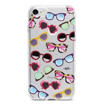 کاور  ژله ای وینا مدل Sunglasses مناسب برای گوشی موبایل آیفون 7 و 8