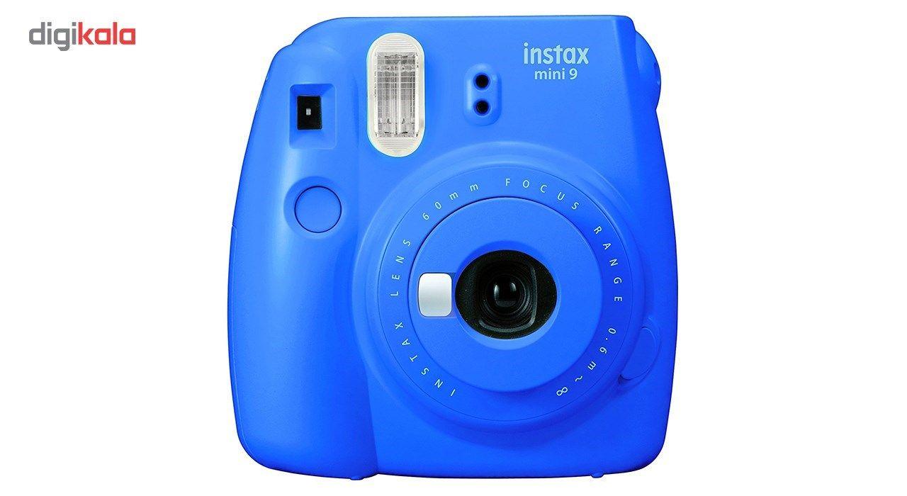 دوربین عکاسی چاپ سریع فوجی فیلم مدل Instax Mini 9 به همراه  فیلم مخصوص main 1 3