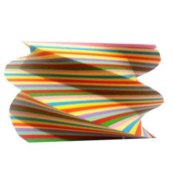 کاغذ یادداشت 10 رنگ طرح چرخشی