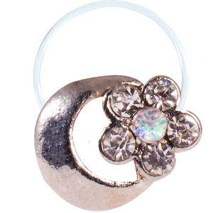 انگشتر پا طرح ماه و گل مدل Toe Ring2