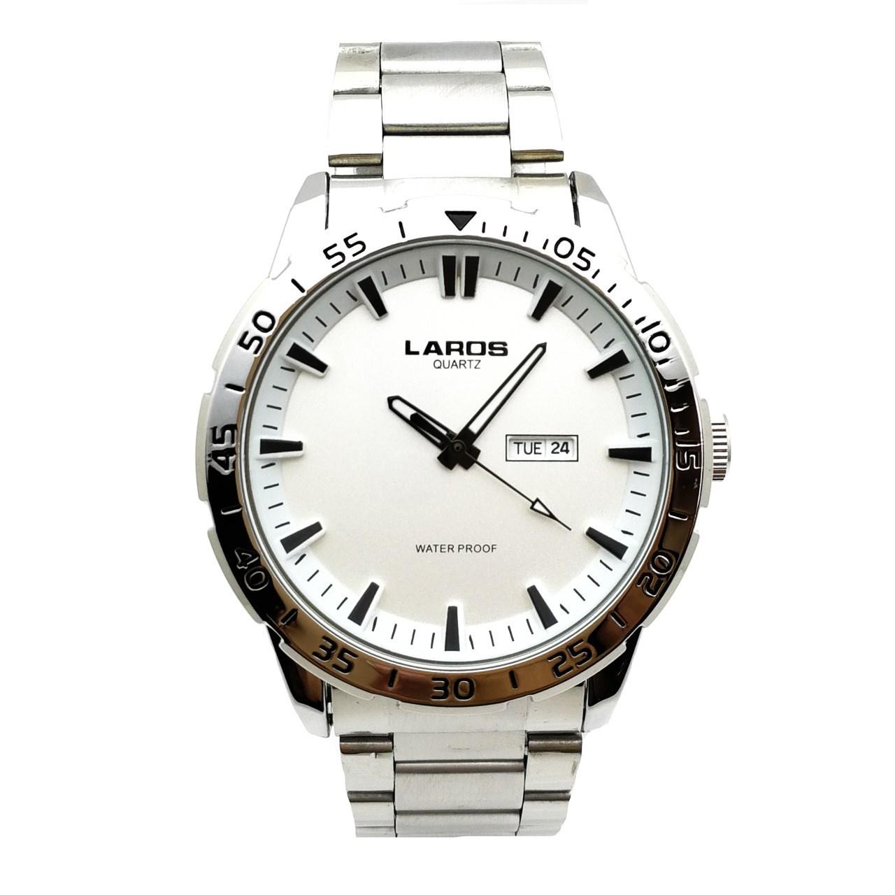 ساعت مچی عقربه ای مردانه لاروس مدل 79943DD 54
