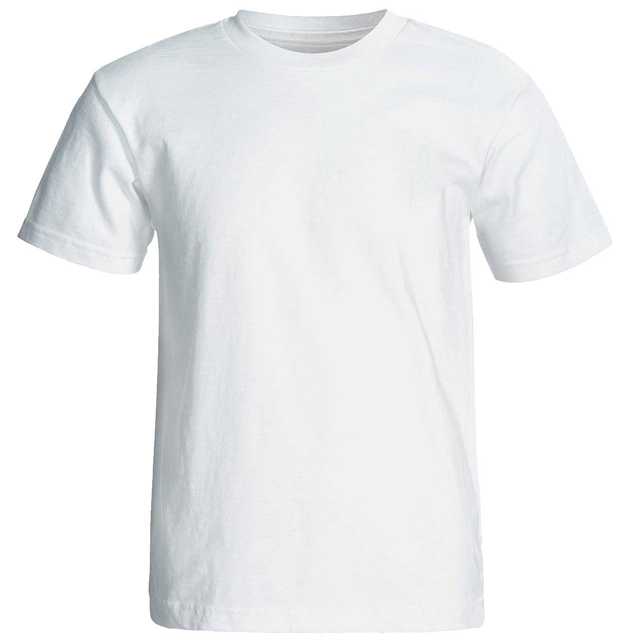 تی شرت سفید  آستین کوتاه نیکو