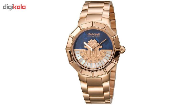 ساعت مچی عقربه ای زنانه روبرتو کاوالی مدل RV2L011M0111