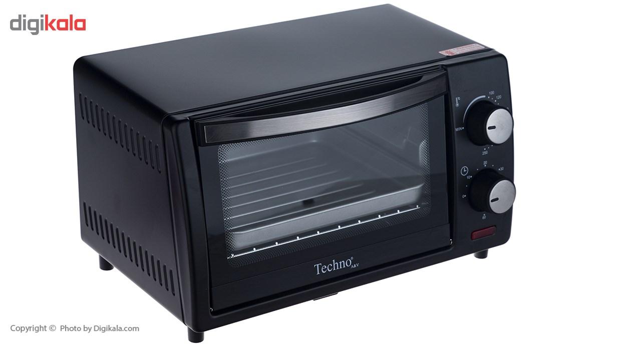آون توستر تکنو مدل Te-90 main 1 2