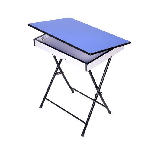 میز تحریر تاشو و تنظیم شو یاس طرح باکس دار تک
