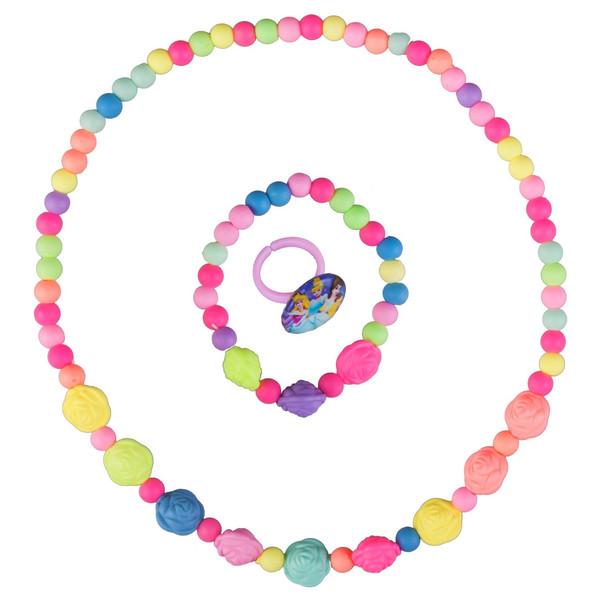 ست گردنبند و دستبند دخترانه ویتالی بیوتی مدل گل رز کدA623