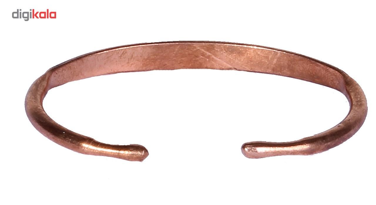 دستبند طرح گل لوتوس کد MT03