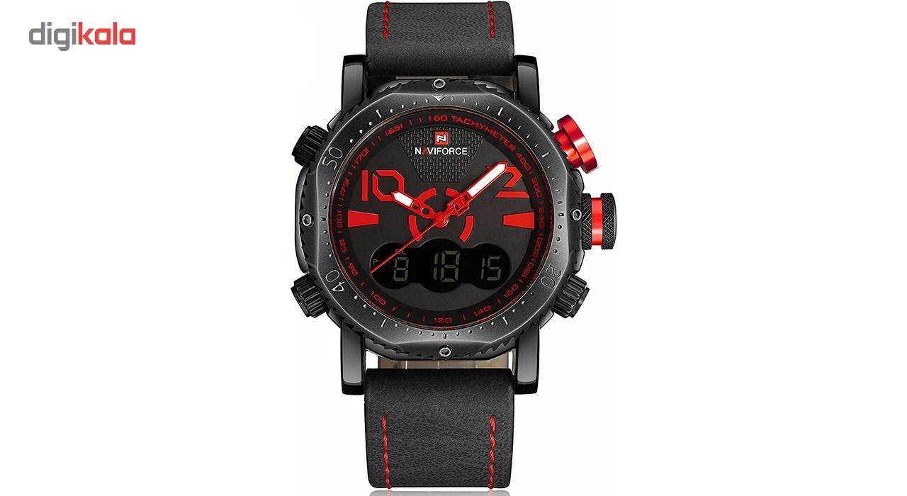 خرید ساعت مچی عقربه ای مردانه نیوی فورس مدل NF9094M/GH 1