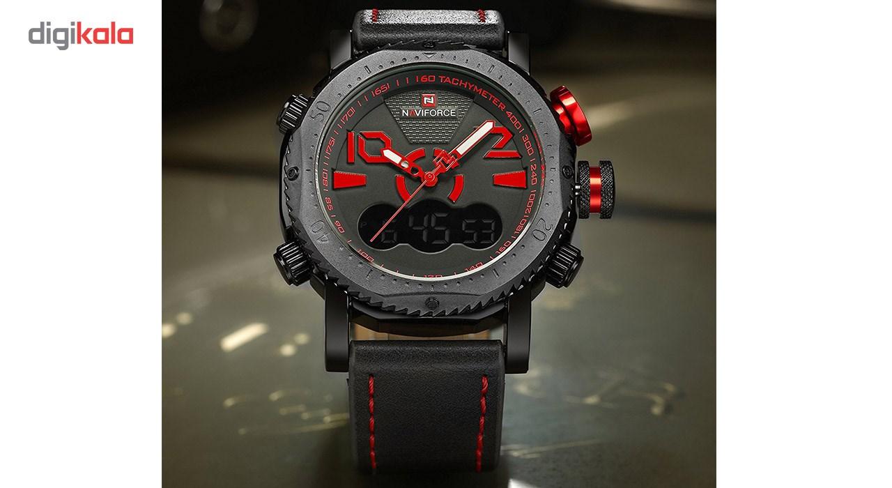 ساعت مچی عقربه ای مردانه نیوی فورس مدل NF9094M/GH 1