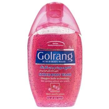 شامپو بدن گلرنگ مدل Scrub Red مقدار 280 گرم