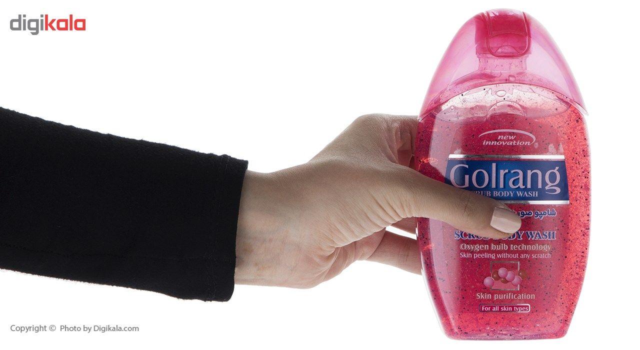 شامپو بدن گلرنگ مدل Scrub Red مقدار 280 گرم main 1 3