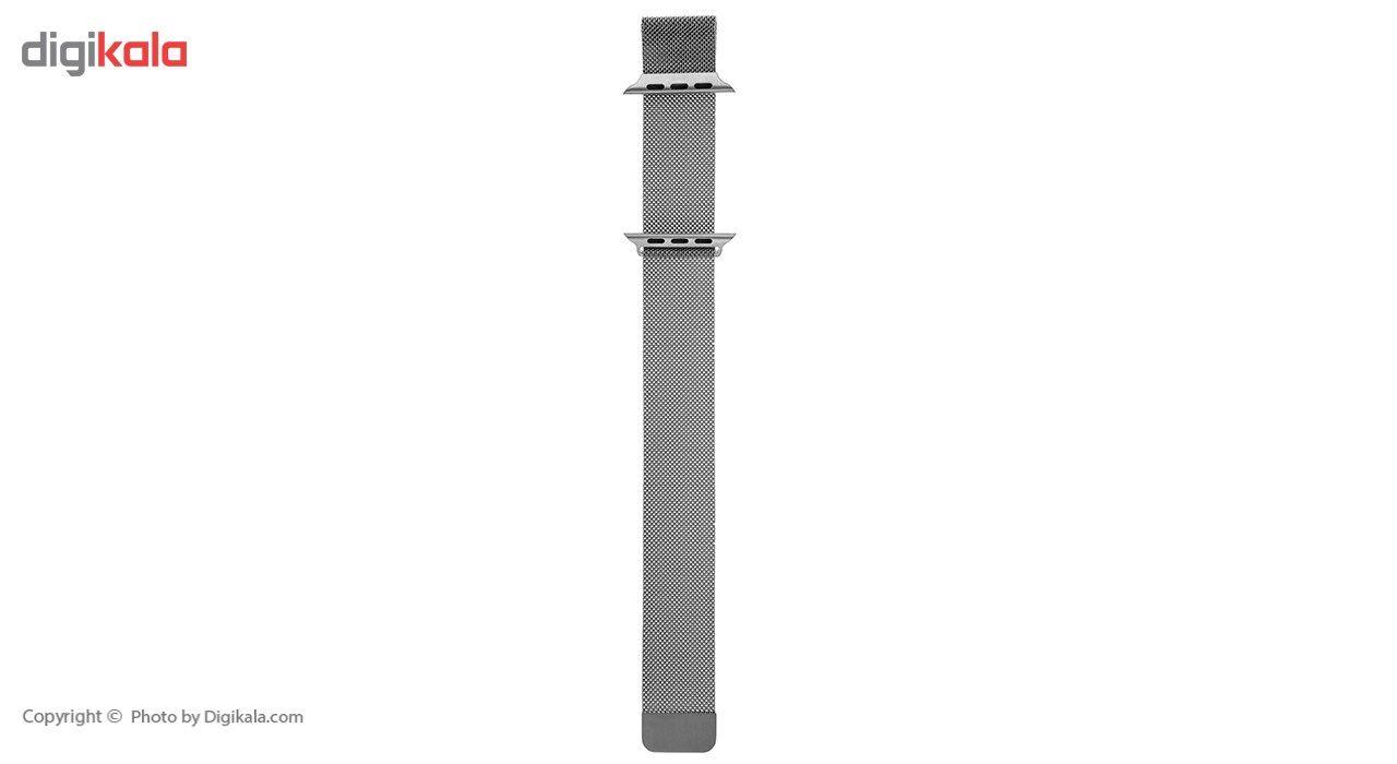 بند فلزی مدل Milanese Loop مناسب برای اپل واچ 42 میلی متری main 1 1