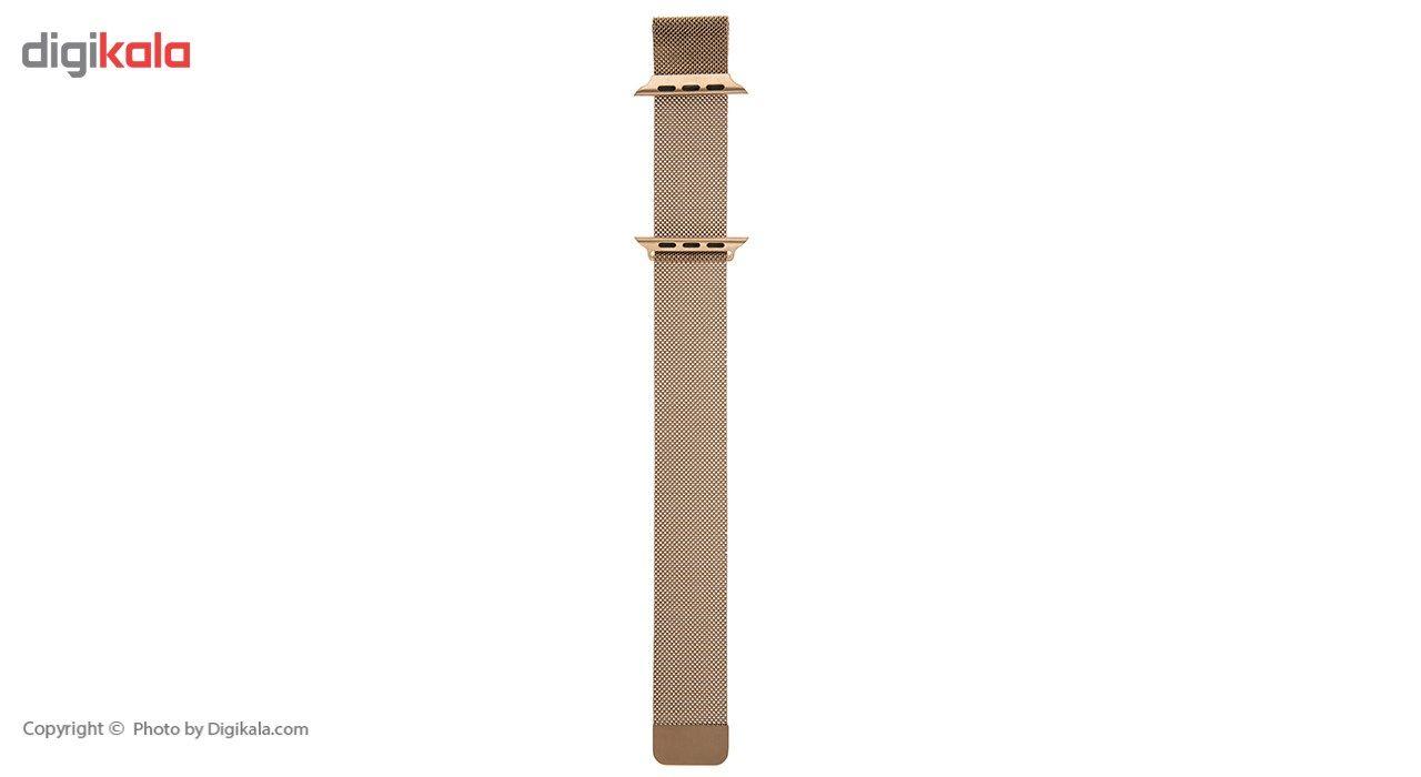 بند فلزی مدل Milanese Loop مناسب برای اپل واچ 42 میلی متری main 1 2