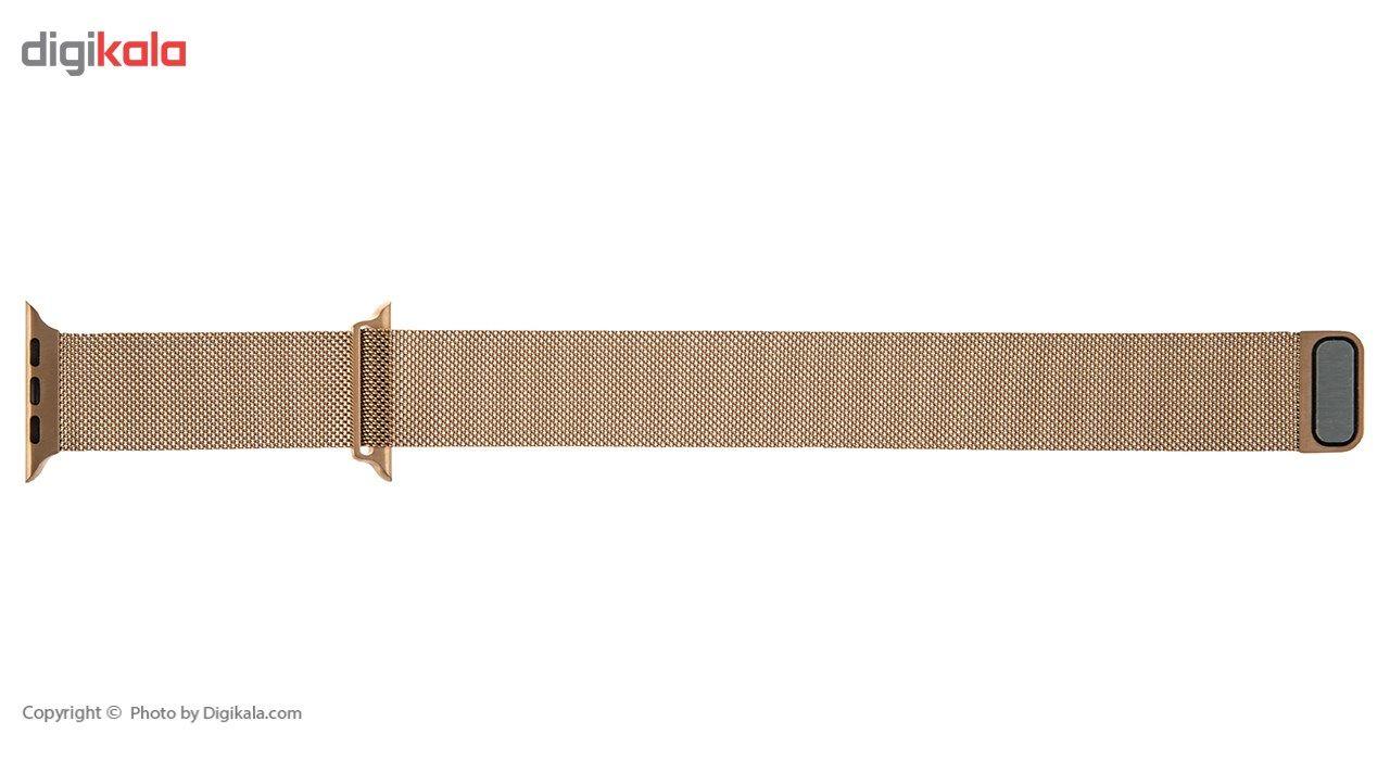بند فلزی مدل Milanese Loop مناسب برای اپل واچ 42 میلی متری main 1 3