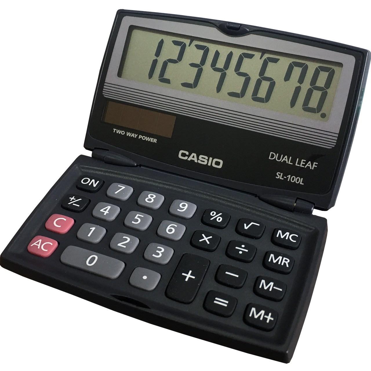 قیمت                      ماشین حساب کاسیو SL-100L