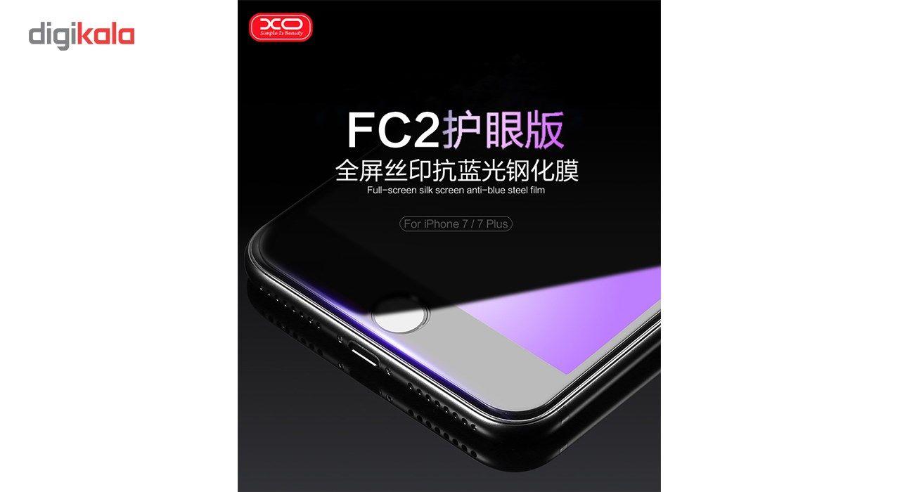 محافظ صفحه نمایش شیشه ای ایکس او مدل Wolverine Anti Blue مناسب برای گوشی موبایل اپل آیفون 6 main 1 1
