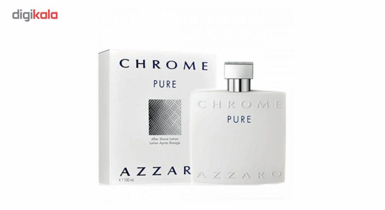 خرید اینترنتی ادوتویلت مردانه آزارو مدل Chrome Pure حجم 100 میلی لیتر اورجینال