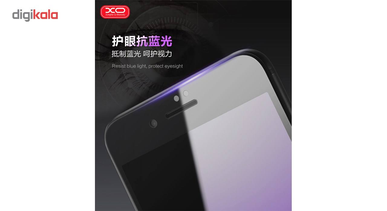 محافظ صفحه نمایش شیشه ای ایکس او مدل Wolverine Anti Blue مناسب برای گوشی موبایل اپل آیفون 6 main 1 2