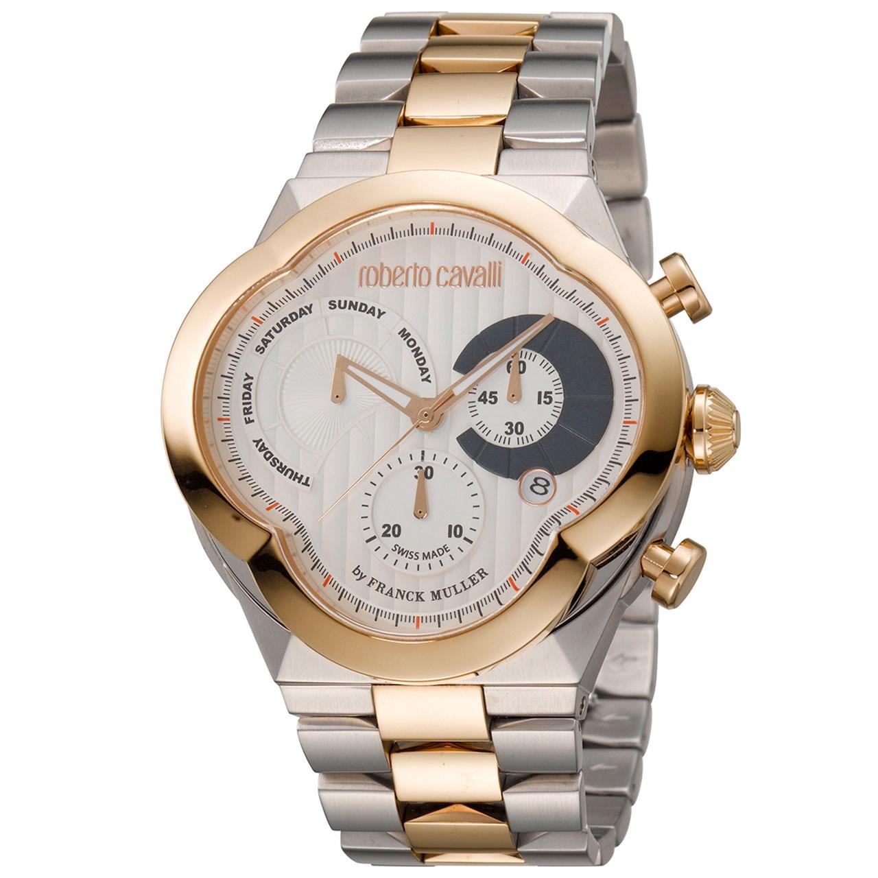 ساعت مچی عقربه ای مردانه روبرتو کاوالی مدل RV1G028M0111