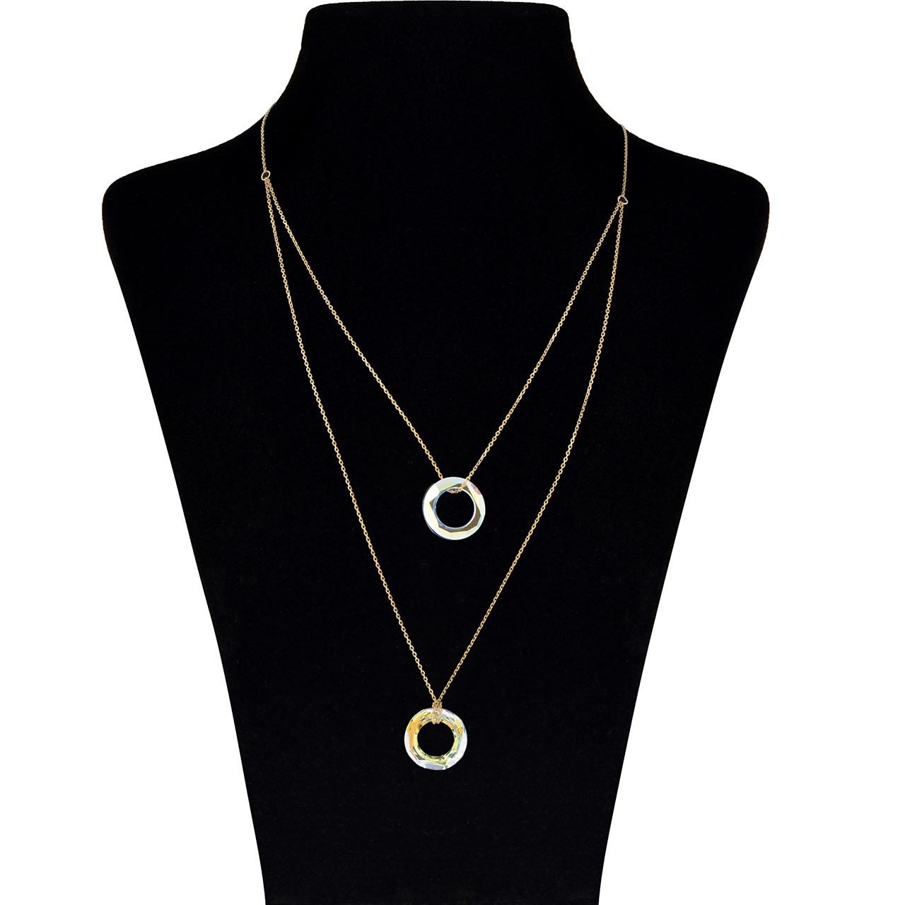 قیمت گردنبند طلا 18 عیار ماهک مدل MM0790 - مایا ماهک
