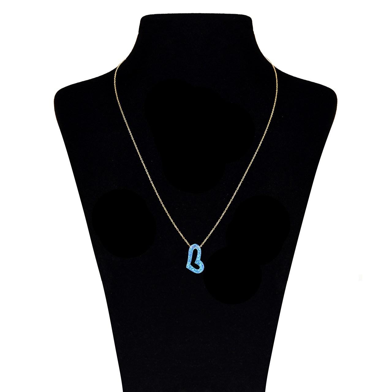 گردنبند طلا 18 عیار ماهک مدل MM0711 - مایا ماهک