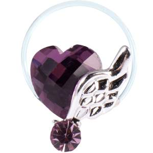 انگشتر پا طرح بال و قلب مدل 6 Toe Ring