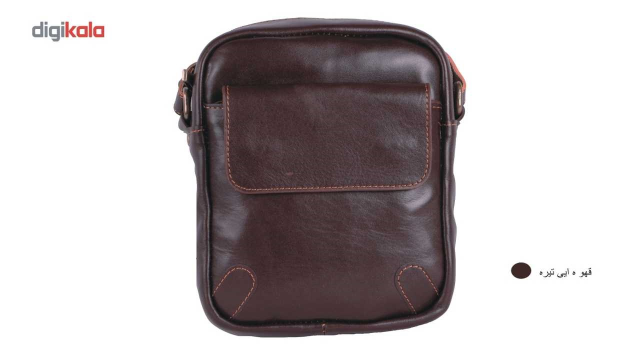کیف دوشی  چرم ما مدل اسپرت تک جیب