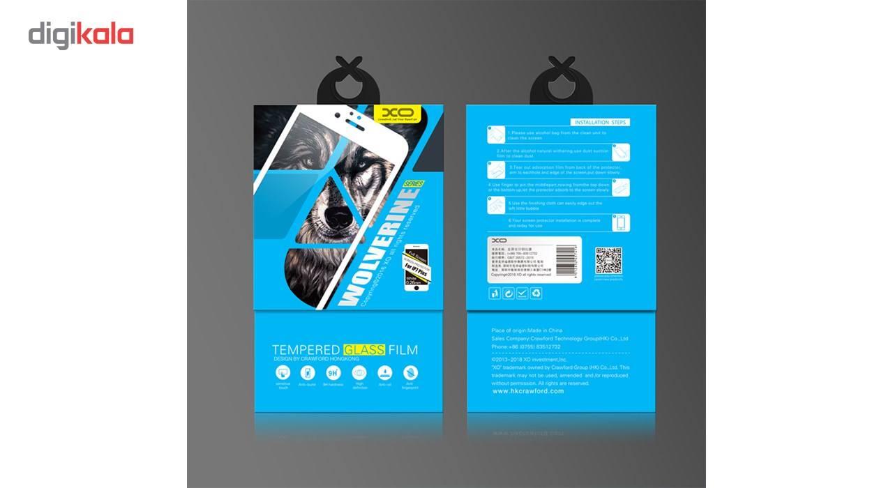 محافظ صفحه نمایش شیشه ای ایکس او مدل Wolverine Anti Blue مناسب برای گوشی موبایل اپل آیفون 6 main 1 16