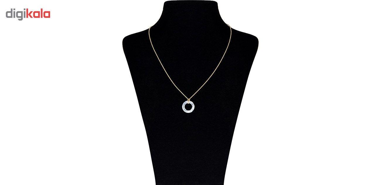 گردنبند طلا 18 عیار ماهک مدل MM0784 - مایا ماهک -  - 1