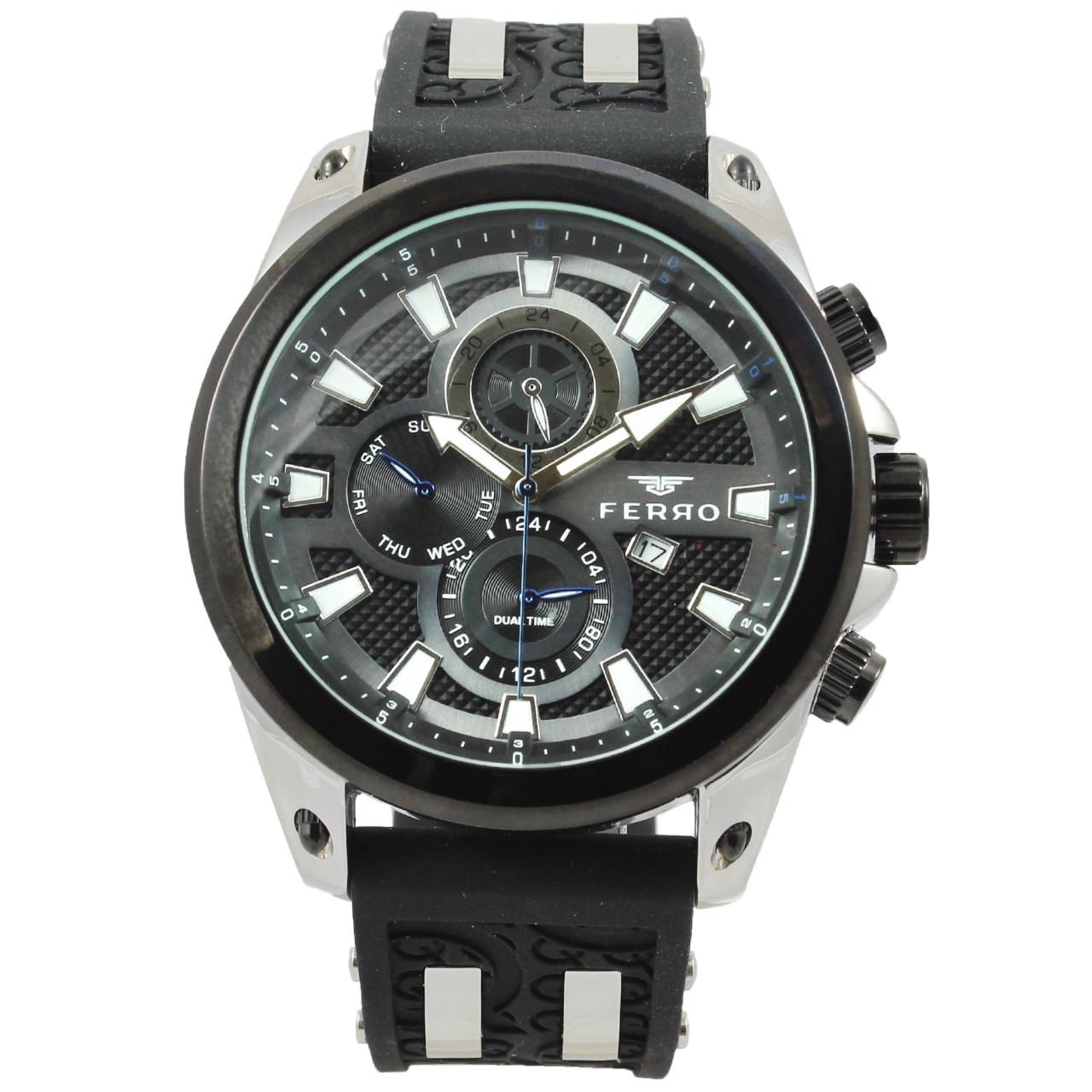 ساعت عقربه ای مردانه فرو مدل F61532-576-J
