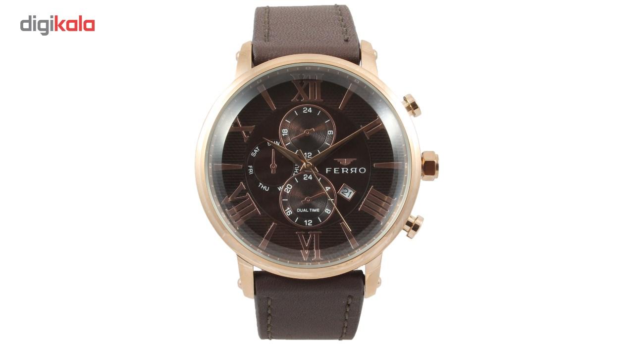 خرید ساعت مچی عقربه ای مردانه فرو مدل F61509-622-C2