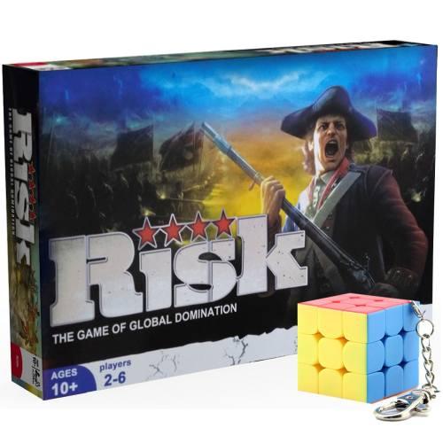 بازی فکری طرح هاسبرو مدل Risk همراه با جاکلیدی مویو