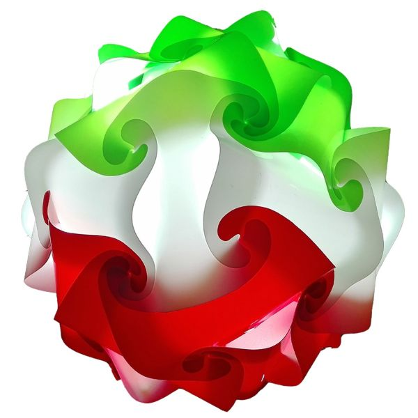 لوستر فانتزی نور ارا  طرح پامچال پرچم ایران