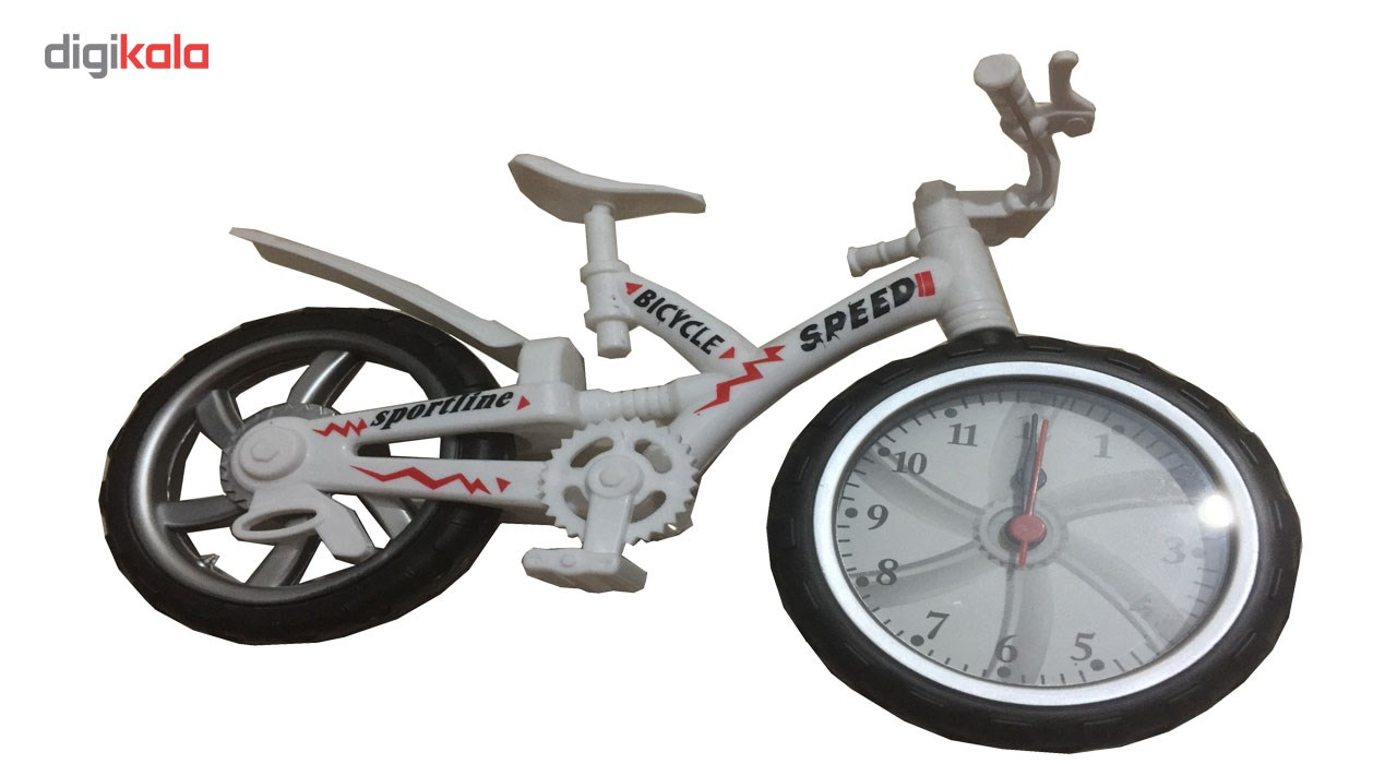 ساعت رومیزی دکوری مدل دوچرخه کد 5000