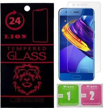 محافظ صفحه نمایش شیشه ای لاین مدل 2.5D مناسب برای گوشی هوآوی Honor 9