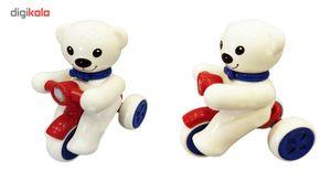 اسباب بازی کیوت تویز مدل خرس موتور سوار